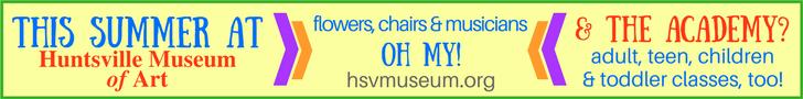 Huntsville Museum of Art 728 x 90